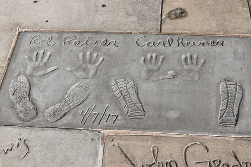 "Carl and Rob Reiner's Handprints at the TCL Chinese Theatre • <a style=""font-size:0.8em;"" href=""http://www.flickr.com/photos/28558260@N04/45753633942/"" target=""_blank"">View on Flickr</a>"
