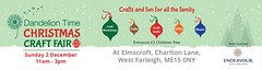 Christmas Fair 2 December 2018 (DandelionTimeUK) Tags: event christmas charity kent endeavour workshops crafting