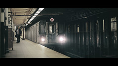 just in time (Nico Geerlings) Tags: manhattan nyc ny usa newyorkcity subway wattstreet businessman station train urban cinematic cinematography ngimages nicogeerlings nicogeerlingsphotography fujifilmxt2 xf56mm