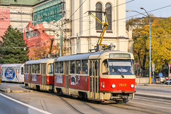 BTS_7845_201811 (Tram Photos) Tags: ckd tatra t3 t3g bratislava dopravnýpodnikbratislava dpb strasenbahn tram tramway električková mhd električka