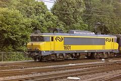 NS 1601 AMSTERDAM (bobbyblack51) Tags: ns class 1600 alsthom bobo electric locomotive 1601 amsterdam venlo 1995