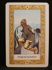 King of Swords. (Oxford77) Tags: tarot thenorsetarot norse viking vikings cards card tarotcards