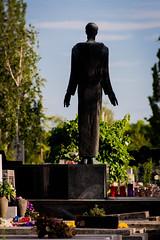 statue of a man (Sam Scholes) Tags: mirogojcemetery graves zagreb travel landmark graveyard vacation europe cemetery croatia cityofzagreb hr