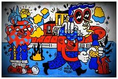 2018_11_01_Graff09 (Graff'Art) Tags: art artwork bombing fresque graff graffiti mural paint painting peinture spray street streetart urban urbanart wall wallpainting