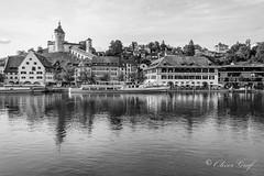 Schaffhausen Munot (olle.graf) Tags: 2018 olle boat burg castle fluss fujifilm may munot rhein river schaffhausen schiff schweiz switzerland wasser water xe2 feuerthalen zürich ch