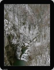 Vue du Pont du diable - Crouzet Migette (francky25) Tags: vue du pont diable crouzet migette franchecomté doubs hiver neige ruisseau