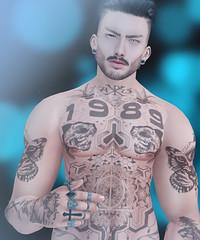 Flawless Time (MauMau_Yakusa) Tags: volkstone facil hair volthair taox tatoo