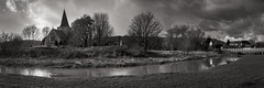 River light (thriddle) Tags: alfriston church monochrome sussex