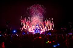Holiday Wishes (MarcStampfli) Tags: cinderellacastle disney fireworks florida holidaywishes magickingdom mainstreetusa mickeysverymerrychristmasparty nikond3200 themeparks vacationkingdom wdw waltdisneyworld