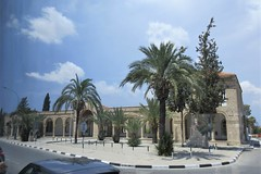 Colonnade at St. George Kontos Monastery, Larnaca, Cyprus (Paul McClure DC) Tags: larnaca larnaka cyprus mediterranean may2018 historic architecture church monastery orthodox