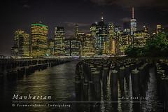 Manhattan (Fotomanufaktur.lb) Tags: manhattan newyork hudsonriver usa amerika america river fluss night nacht schölkopf schoelkopf light licht