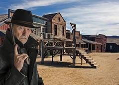 Gorm as sheriff (gormjarl) Tags: almeria cowboy ego portrett