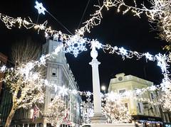 London Christmas lights 2018 (lauradavison) Tags: london uk christmas lights winter shop displays seven dials