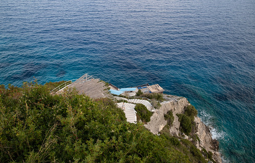 Stairs to the blue caves Zakynthos, Greece