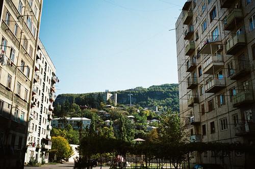blocks and hills