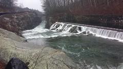 Winsor Dam at the Quabbin in Ware (Art of MA Foto Stud) Tags: quabbin reservoir winterscene massachusetts waterfall dam water