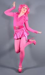 108H6L (klarissakrass) Tags: pinkdress pinup pinkshoes pumps highheels sexylegs legfashion pinknylons tranny transgender fashing costume pose studiophotography gurl crossplay crossdress pink pinkfashion pinkhair travestie lolita kawaii fashion