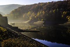 Eifel0043Rursee (schulzharri) Tags: eifel see lake deutschland germany europa europe water sun wasser sonne landschaft gras himmel meer berg baum wald bucht felsen