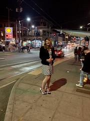 Enjoying Seattle nightlife (robinlane98) Tags: crossdress cd robinlane98 genderfluid gurl trans tgirl