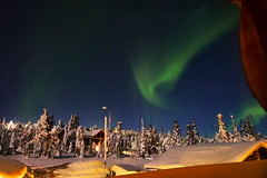 Northern Lights (timo_w2s) Tags: ruka kuusamo lapland finland winter snow auroraborealis aurora northernlights revontulet night