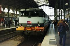 16106, Gare Du Nord, Paris, 26-04-07 (Tin Wis Vin) Tags: locos railways sncf france paris nord