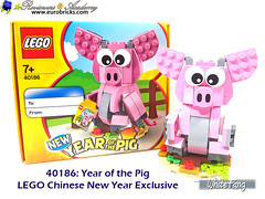 This is the LEGO Chinese New Year exclusive for 2019 (WhiteFang (Eurobricks)) Tags: lego chinese new year cny exclusive asia pacific festive season culture asian red packets family grandparents father mother children living room house interior exterior lantern happiness blessing dragon dance pig show chingay performance