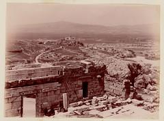 θέα δυτικά της Ακρόπολης, περίπου 1890. (Giannis Giannakitsas) Tags: athens athen athenes greece grece griechenland 19th century acropolisacropole αστεροσκοπειο