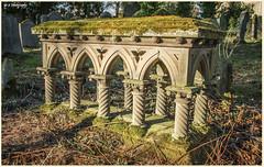 Grave Tomb Forgotten DSC_2653 (dark-dave) Tags: tomb grave hutton old village scotland forgotten