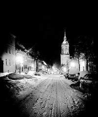 St. Annen Kirche (M&K Photographie) Tags: germany deutschland erzgebirge strase street church kirche winter annabergbuchholz iphone mkphotographie