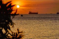 Red Sun (NguyenMarcus) Tags: bluesky aasia worldtracker beach landscape sunset vietnam clouds vungtau bàrịa–vũngtàu vn