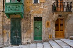 Doors, Valletta (Anders_3) Tags: valletta malta architecture building mediterranean island capital nikond700 maltese door woodenbalcony traveldestination 7s65567 yellow