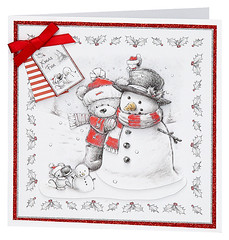 Craft Creations - Charlotte487 (Craft Creations Ltd) Tags: bear snowman christmas greetingcard craftcreations handmade cardmaking cards craft papercraft