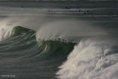 3KA10569a_C_2018-11-18 (Kernowfile) Tags: cornwall cornish stives porthmeorbeach surfing surf waves breakingwaves water sea surfers spray spume spindrift pentax k3ii pentaxforums
