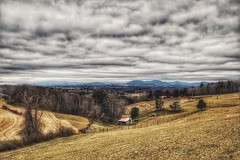Cold day in Virginia (bowchee likes cameras) Tags: outside landscape mountains 40mmstm rollinghills hills farms 20181127 virginia 5d canon 28 stm 40mm