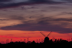 Windenergy (renatecamin) Tags: wind energy sunset sonnenuntergang