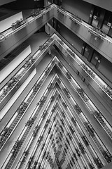 High rise atrium (Lux Aeterna - Eternal Light) Tags: architecture