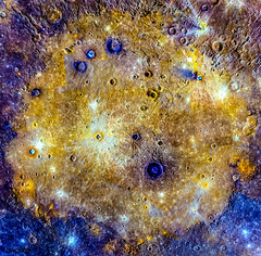 Mosaic of Caloris basin. Feb 25th, 2015. Original from NASA. Digitally enhanced by rawpixel. (Free Public Domain Illustrations by rawpixel) Tags: astrology astronomical astronomy astrophotography basin cc0 celestial cosmology cosmos hubble mercury messenger name nasa outerspace pdnasa planet publicdomain solarsystem space surface themilkyway universe