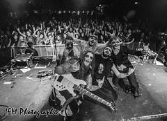 Evil Scarecrow, Electric Ballroom, Camden, London (IFM Photographic) Tags: img8029a canon 600d tamron 1024mm 1024mmf3545diiivchld tamron1024mmf3545diiivchld f3545 di ii vc hld evilscarecrow evil scarecrow electricballroom camden london londonboroughofcamden metal gig concert venue show livemusic parodymetal rock blackandwhite bw monochrome
