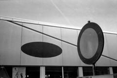Rounds (selyfriday) Tags: selyfriday wwwnassiocomempty nassiocom leica leicacl 40mm analogue 35mm film caffenol deltastd 9minutes 25˙c 400i cheap zaandam dutch circles round zaanstad ford sign nederland