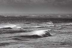 Océan (jpto_55) Tags: océan océanatlantique atlantique vague écume paysage noiretblanc xt20 fuji fujifilm fujixf55200mmf3548rlmois gironde aquitaine france bassindarcachon