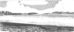 Middlebere lake, Arne Nature Reserve Dorset (Alextree) Tags: arne middlebere lake dorset pen ink