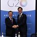 Reunión Bilateral - Moon Jae-in y Mark Rutte