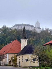 Schloss Hohenaschau | Castle Hohenaschau (aniko e) Tags: burg castle church chiemgau aschau hohenaschau germany autumn bavaria bayern hiking schloss chateau