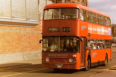 STRATHCLYDE'S BUSES LA1215 XUS586S (bobbyblack51) Tags: strathclydes buses la1215 xus586s leyland atlantean alexander al glasgow 1995