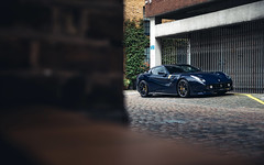TDF for the fog. (Alex Penfold) Tags: ferrari f12 tdf blue fog lights light london supercars super car cars autos alex penfold 2019
