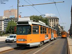 Milano 4975 (pretsend (jpretel)) Tags: milano atm tranvia tramway jumbotram 4900