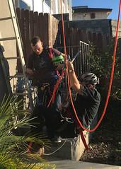010 Gear Adjustments (saschmitz_earthlink_net) Tags: 2018 california southerncaliforniagrotto christmasparty losangelescounty baldwinhills windsorhills party climbing practice