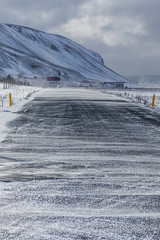 Winter Driving near Reynisfjara Beach in Iceland (Lee Rentz) Tags: atlantic atlanticocean iceland reynisfjall reynisfjallmountain reynisfjara reynisfjarabeach reyniskirkjachurch ringroad route1 southcoast vik adventure agrarian agricultural agriculture asphalt blacksandbeach blizzard blowing cold driftingsnow driving experience farm field frigid groundblizzard landscape march mountain nature road roadside route slippery snow snowing snowy surface tourism travel vertical visibility weather wind windblown windy winter wintry