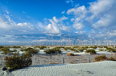 WINDMILLS PALM SPRINGS 172019 03 (Street X Shooter) Tags: palmsprings landscape windmills sky clouds