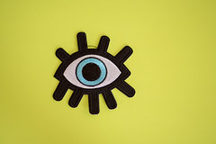 All seeing eye (Rushay) Tags: backgrounds copyspace eye yellow thirdeye portelizabeth southafrica